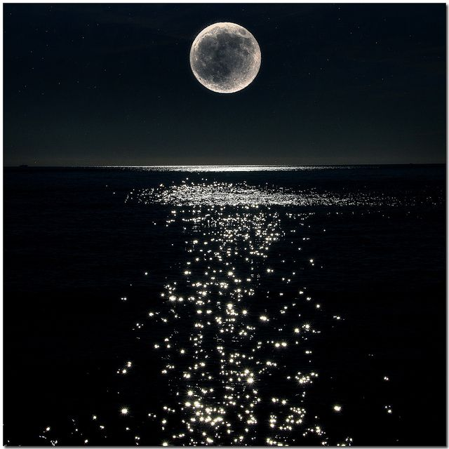 The Moon's Reflection….